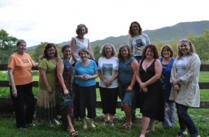 women writers at Nimrod Hall Summer Arts Program
