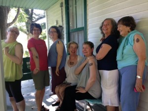 Nimrod Hall Writers' Workshop group photo
