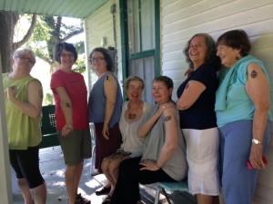 Nimrod Hall Writers' Workshop group photo