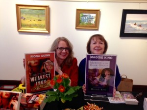 Fiona Quinn and Maggie King