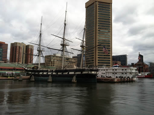 Baltimore Harbor.