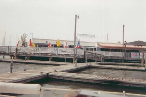 Waterman's restaurant (in the off season). Van met Buck here before their sailing lessons.