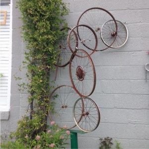 Ashland bike wall art