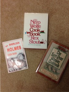Cook books for Sherlock Holmes, Lord Peter Wimsey, and Nero Wolf