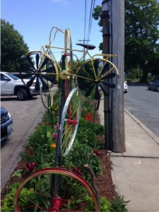 bike sculpture in Sculpture in Narragansett, RI