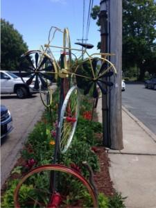 bike sculpture in Sculpture in Narragansett, RI
