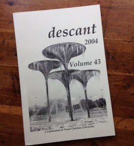 descant literary journal writing contest