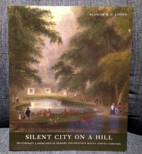 book cover of Auburn Cemetery by Blanche M.G. Linden