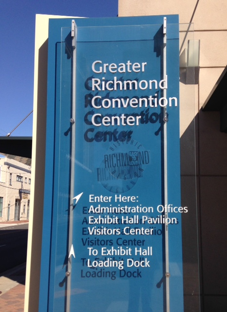 Greater Richmond Convention Center, site of the James River Writers Conference