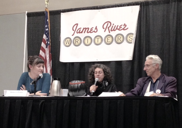 James River Writers Conference Pitchapalooza panel