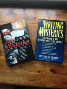 Writing Mysteries edited by Sue Grafton book covers