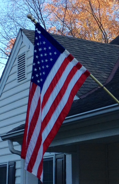 American flag, November 11, 2015, Veterans Day