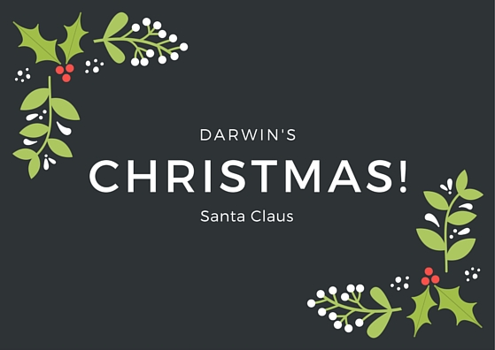 Darwin's Christmas! Santa Claus - the evolution of santa claus