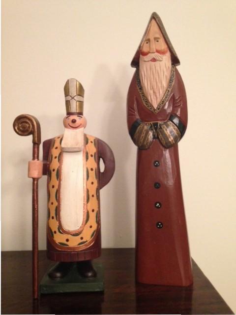 saint nicholas figurines