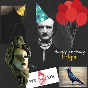 happy birthday, edgar allan poe; edgar allan poe's birth