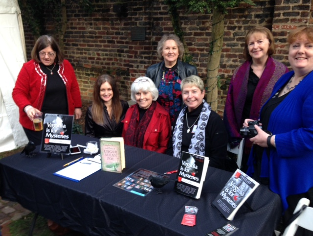 Sisters in Crime presenting Virginia is for Mysteries at Poe Museum for Poe's Birthday Bash, Edgar Allan Poe
