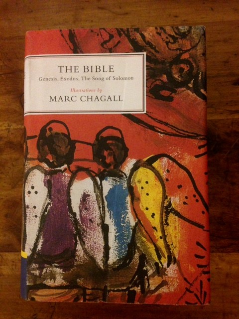 The Bible illustrated by Marc Chagall