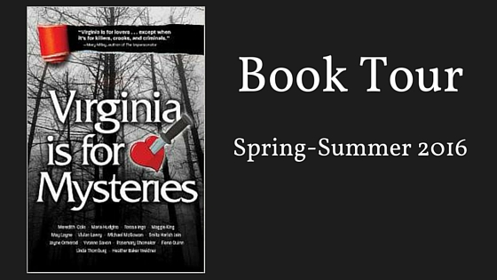 Virginia is for Mysteries: Volume II Book Tour