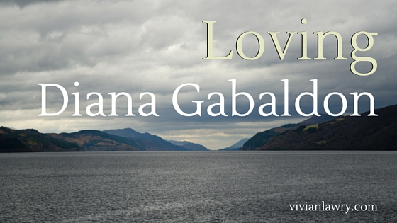 Loving Diana Gabaldon, photo by Adam Austin