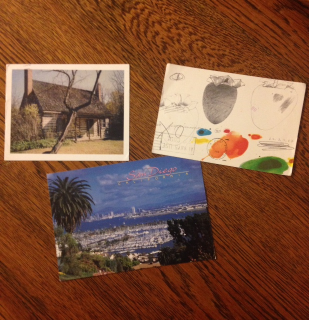 postcards, bookworm delights, Top Ten Tuesday