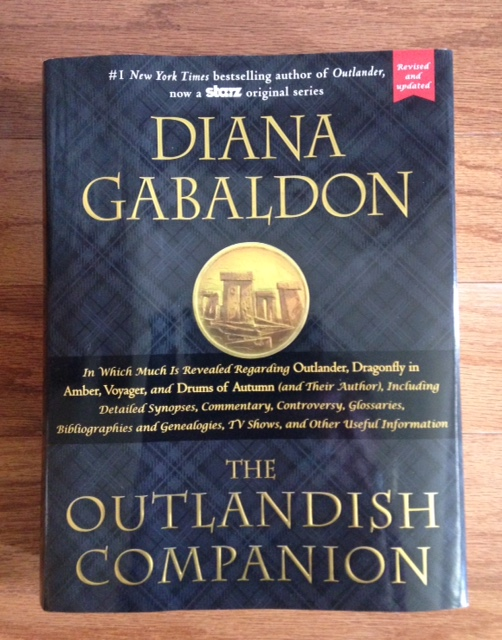 The Outlandish Companion by Diana Gabaldon, a companion book in the Outlander series