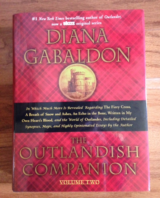 The Outlandish Companion, Volume 2 by Diana Gabaldon, companion book in the Outlander series