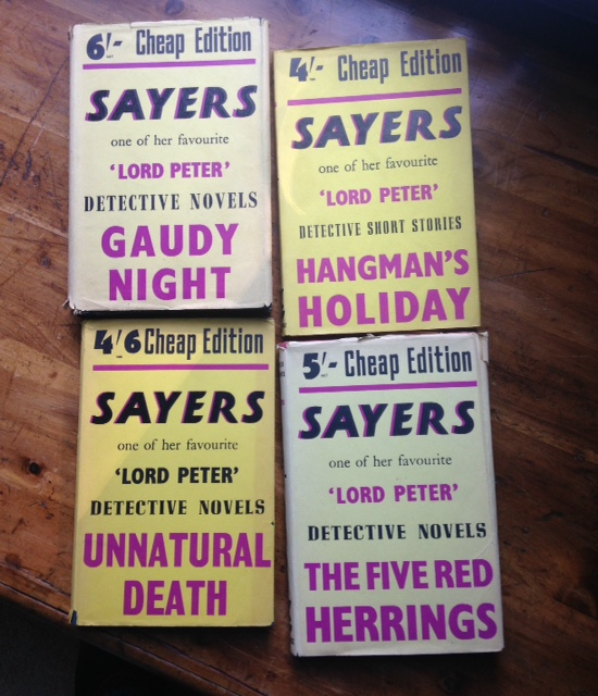 Dorothy L. Sayers books, cheap editions