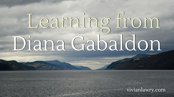 learning from Diana Gabaldon