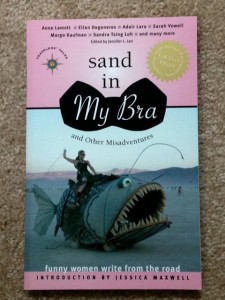 Sand in my Bra short story collection, funny writing, humor writing,