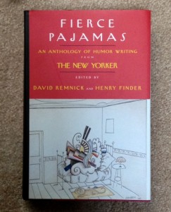 Fierce Pajamas collection of funny short stories from The New Yorker, funny writing, humor writing