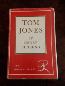 Tom Jones by Henry Fielding, writing humor, humor writing