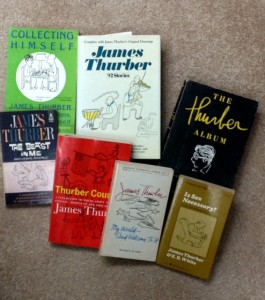James Thurber collection of novels, funny writing, humor writing