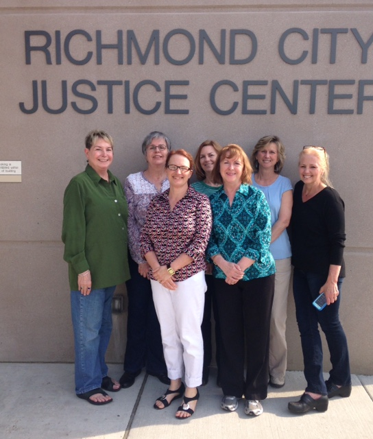Sisters in Crime, Richmond City Justice Center, Vivian Lawry, creative writing about jail