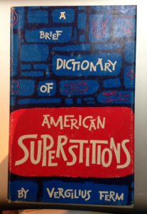 A Brief Dictionary of American Superstitions, book, Friday the 13th