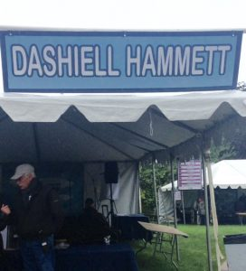 Dashiell Hammett Pavilion at the Gaithersburg Book Festival