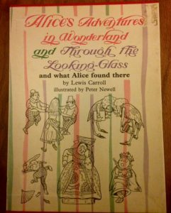 Alice's Adventures in Wonderland and Through The Looking Glass, Lewis Carroll, book, Top Ten Tuesday pick