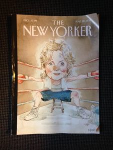 The New Yorker cover, June 20, 2016 issue containing Call the Midwife article