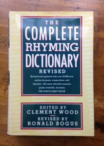 dictionary-rhyming