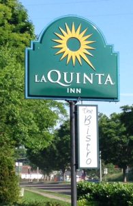 LaQuinta Inn sign