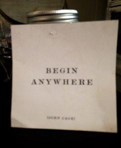 Begin Anywhere Nimrod Hall