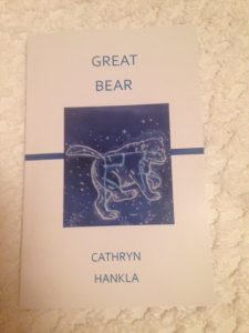 Cathryn Hankla Great Bear book