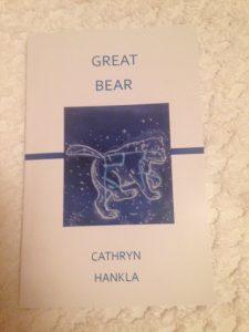 Cathryn Hankla Great Bear book
