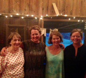 Frances Burch Jennifer Dickinson Nancy Hurrelbrinck Molly Todd Nimrod Hall