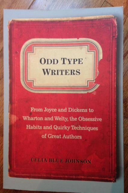 Odd Tye Writers, book by Celia Blue Johnson, red cover