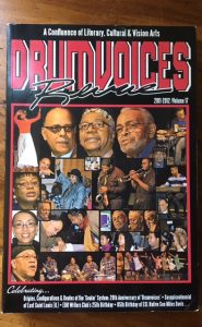 Drumvoices Revue cover, anthology