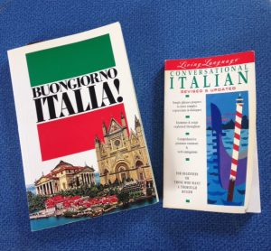 Italian language learning books