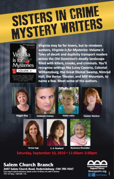 Sisters in Crime Mystery Writers