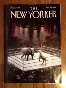 The New Yorker July 2016 cover