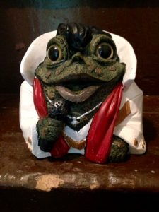 elvis frog nimrod hall