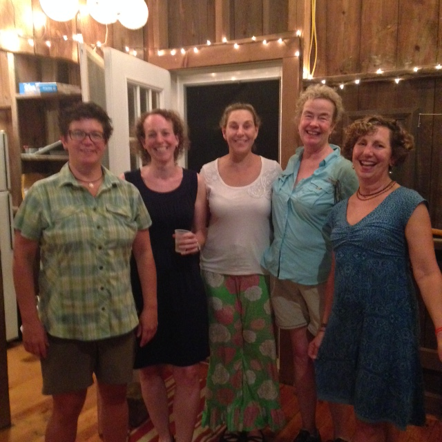 Thurday's readers at nimrod hall: Kristy Bell, Ruth Gallogly, Kit Wellford, Jane Shepherd, Judy Bice